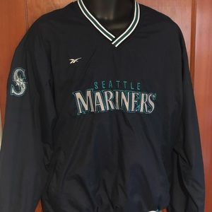 EUC RARE Vtg Reebok Seattle Mariners Windbreaker